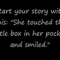 "Prompt #60: ""She touched the little box…"""
