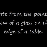 Prompt #96: The glass