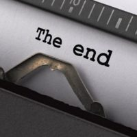 """Prompt #176: """"The End"""""""