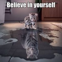 Prompt #188: Believe in yourself!