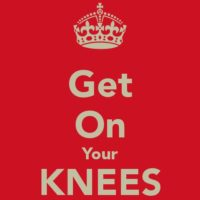 Prompt #202: On the knees