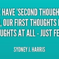 Prompt #245: Second thoughts