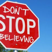 Prompt #405: Don't stop believin'