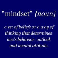 Mindset and submission
