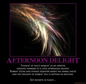 Single cover of the song Afternoon Delight