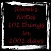 Tenth and final update: 101 things in 1001 days