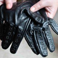 Strict Leather Vampire Gloves