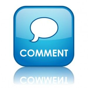 Comment luv: A reader's memorable first