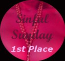 First place Sinful Sunday competition