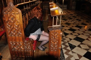 Flashing in a cathedral