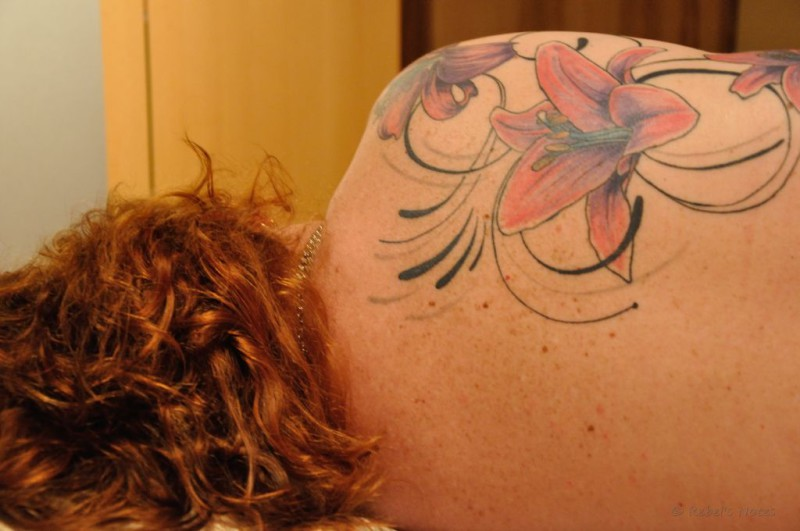 My hair and tattoo
