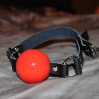 Strict Leather Silicone Ball Gag