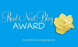 A Real Neat Blog Award (Revisited)