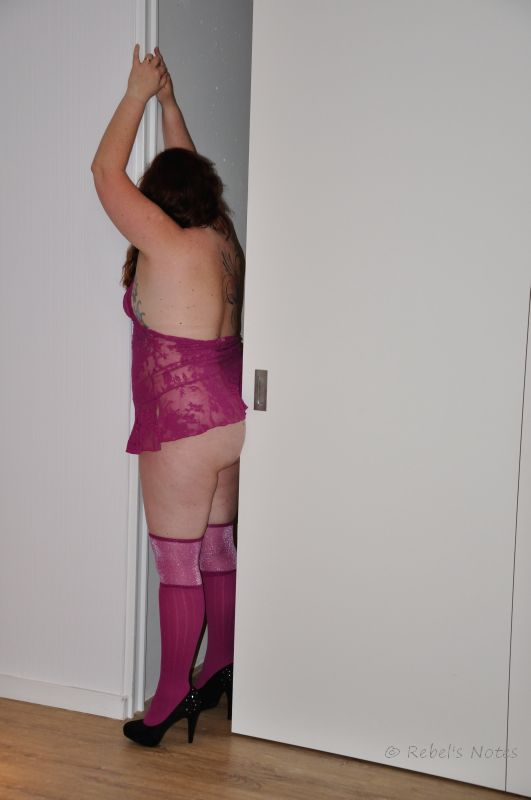 20151031 (260wm) purple heels hotel