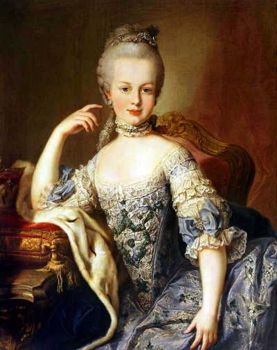 Marie Antoinette, Queen of France, the woman I've borrowed my identity from.
