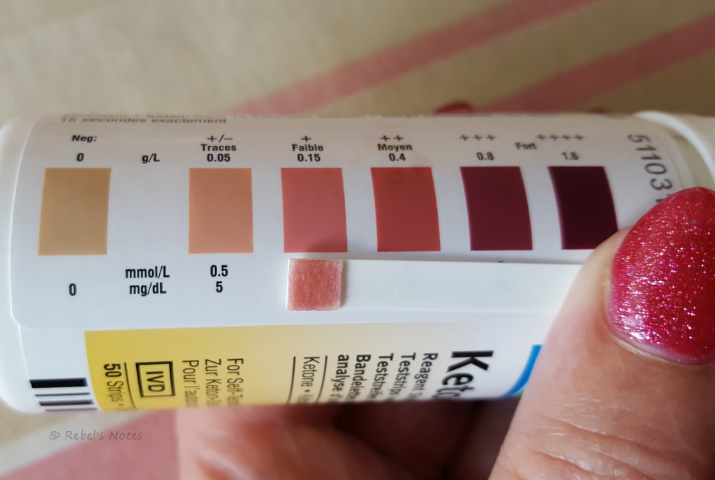 Ketosis on 2 July 2016