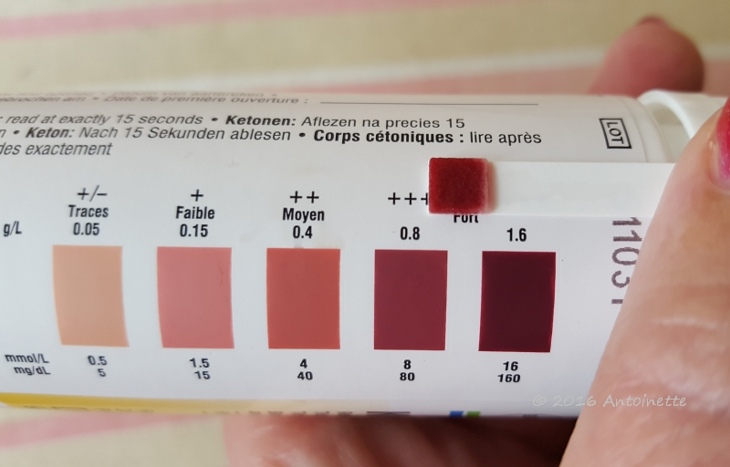 Ketosis on 9 July 2016
