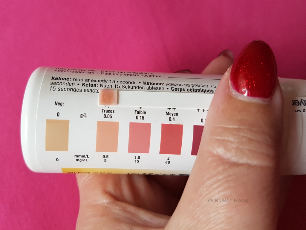 Ketosis on 30 July 2016