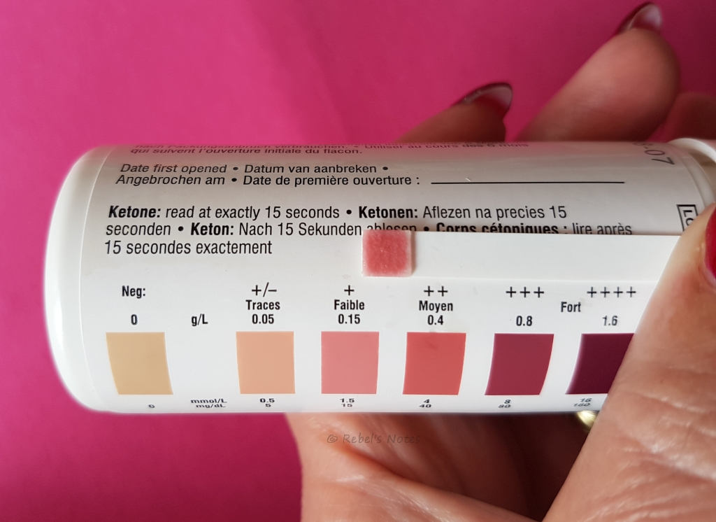 Ketosis on 7 August 2016