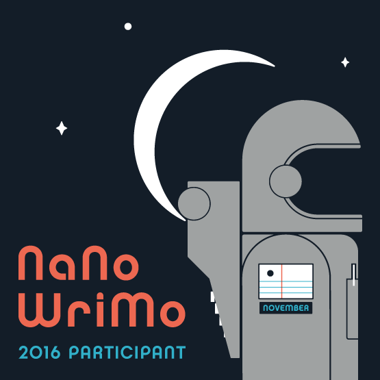 NaNoWriMo 2016... Almost!