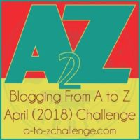 Theme for A-Z Blogging Challenge 2018