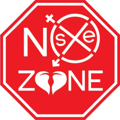 No sex zone sign