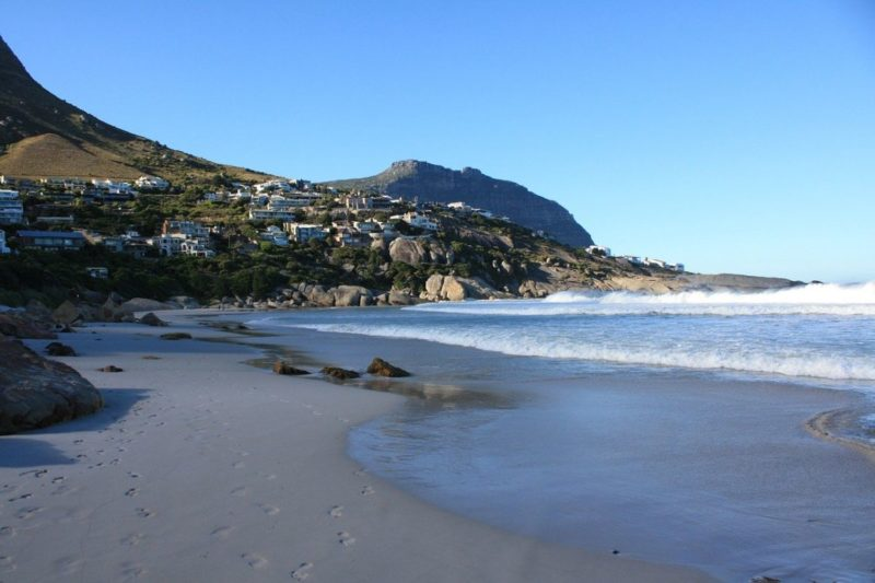 Llundudno beach in Cape Town, South Africa